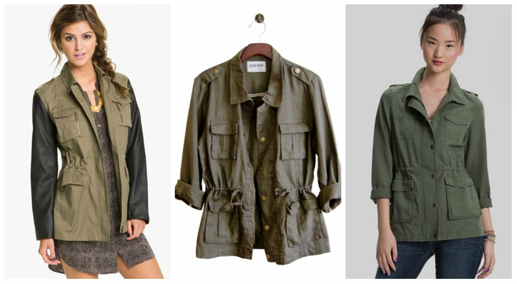 Fall Trend 3 Ways Part Two: The Military Inspired Jacket | Loop Looks